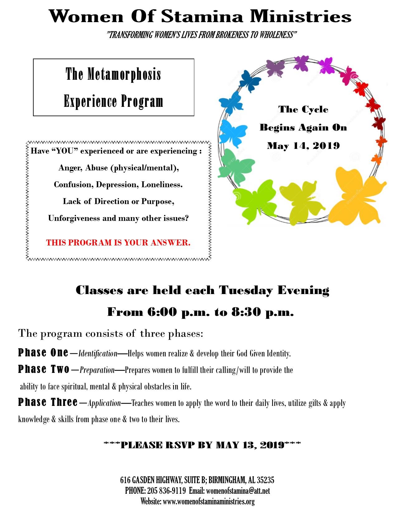WOS Metamorphosis Experience Flyer -052019-3